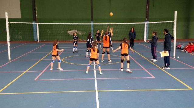 partido voleibol colegio loyola