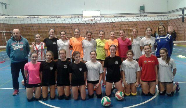 Seleccion asturiana infantil voleibol