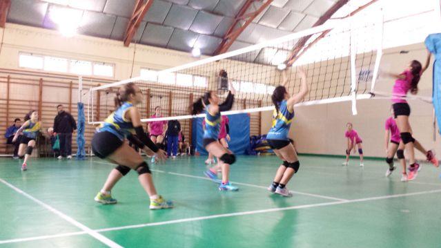 San Ignacio CV La Calzada Voleibol en Colegio Miguel de Cervantes