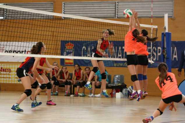 Final del Campeonato de España de Voleibol Infantil 2017