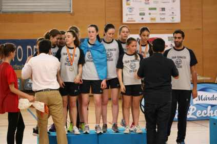 San Ignacio A, subcampeón de España de Voleibol Infantil 2017