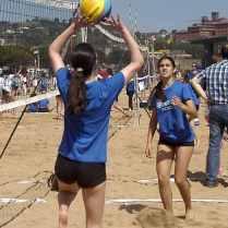 Partido de semifinales entre el San Ignacio G y H