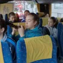 La expedición del San Ignacio, partiendo hacia Gijón.