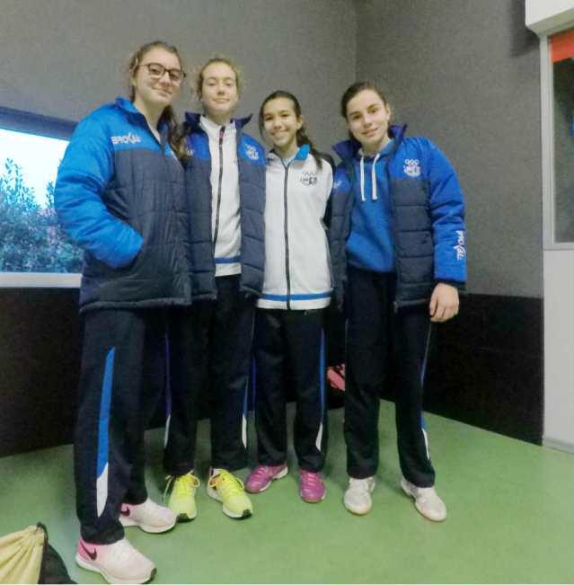 Jugadoras San Ignacio Seleccion Voleibol Asturias