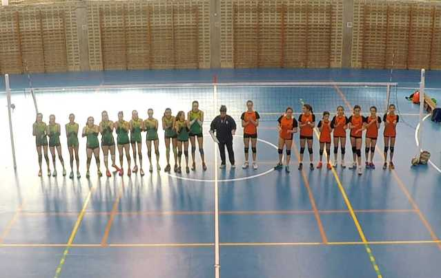 San Ignacio CV Cangas de Onis voleibol infantil 1