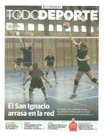 Portada del suplemento TodoDeporte de El Comercio dedicada al San Ignacio.