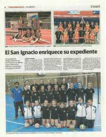 Primera página del reportaje de El Comercio.
