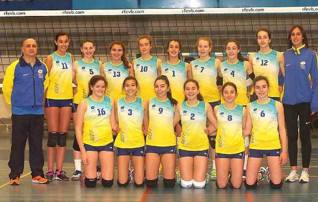 Seleccin Asturiana de Voleibol Infantil 2018