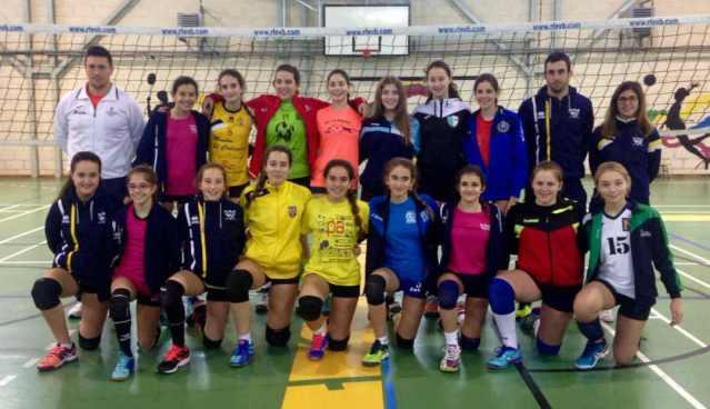 Selecion Voleibol Infantil Castilla La Mancha